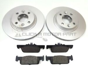 SMART FORFOUR 2015-2020 FRONT 2 NEW BRAKE DISCS AND BRAKE PADS SET