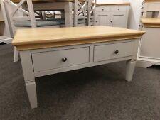 Eton Soft Grey & Oak Small Coffee Table / Living Room Furniture / Drinks Unit