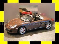 PORSCHE Boxster S 987 Roadster macadamia braun 2009 NOREV 1:18 NEU DEALER PROMO