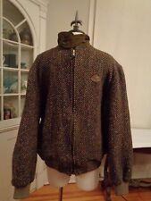 FACONNABLE PARIS Albert Goldberg 100% pure new wool vintage tweed jacket France