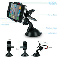 Moblie Phone Psp GPS Car Universal Windscreen Suction Mount Holder Cradle Stand