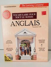 The Learning Co. Anglais CD-Rom Vocabulaire Interactive English Skill Builder
