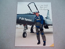 Chuck Yeager Autographed 8X10 Photo