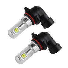 9006 Fits For BMW 320i 2001-2005 645Ci 2004-2005 Cree LED Foglight White Bulbs