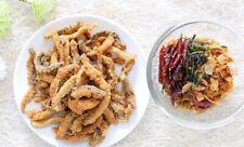 Crispy Fried Fish Thai Snack (ready to eat) 3.53 oz. (100g.)