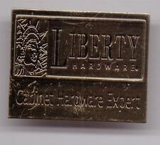 LIBERTY HARDWARE-CABINET HARDWARE EXPERT-HOME DEPOT-PINBACK-ONE1/2 INCHES WIDTH