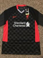 NEW NIKE Liverpool FC L.F.C. Match Soccer Jersey Men's Sz mens Large