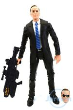 """Marvel Legends 6"""" Inch Toys R Us Shield TRU 3-Pack Phil Coulson Loose Complete"""