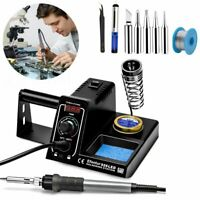WEP Soldering Iron Station 60W SMD Welding Tool 6 Tips LED Temperature Control
