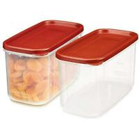 Rubbermaid 10-Cup Food Storage & Organization Sets Dry Container (Set Of 2)
