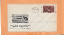RAILWAY SUPPLY MANUFACTURERS ASSN ATLANTIC CITY NJ JUN 1947   RAILROAD COVER