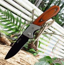 MT410 Couteau Gentleman EDC Folder Mtech Lame Acier 440 Manche Bois