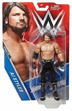 WWE SERIES #73 AJ STYLES SUPERSTAR BASIC ACTION FIGURE WRESTLING TOY BENT CARD