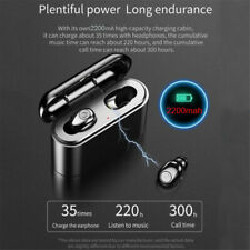 X8S-3000Ma Headphones Mini Invisible Tws  Earphone 5D Wireless Bluetooth Earbud