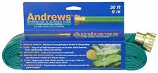 Andrews Sprinkler Hose 30 foot Tube Soaker Flexible Watering Green Garden Adjust
