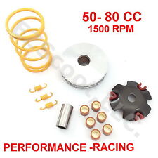 HIGH PERFORMANCE VARIATOR SET RACING & CLUTCH TOURGE SPRING GY6 4STROKE 50-80cc