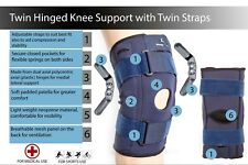 NEW DESIGN Hinged Knee Arthritis Support Brace Guard Stabilizer Strap Wrap