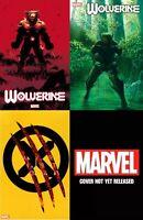 Wolverine #1 - 4 Book Set Kubert-Ross-Chip Kidd-JeeHyung Lee Big Sale! 2/19/2020