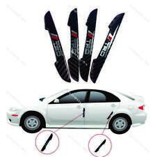 4 x TRD Carbon Fiber Car Side Door Edge Scratch Protector Guard Sticker 4 Toyota