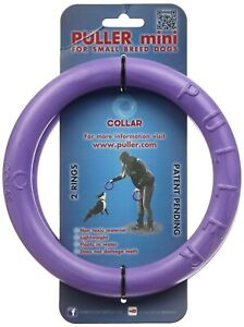 "Puller Interactive Dog Toy Rings Training Device 7"" Mini Small Collar"