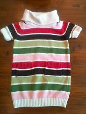 "Gymboree Girls ""Pups & Kisses"" Striped Sweater Dress, Size 3"