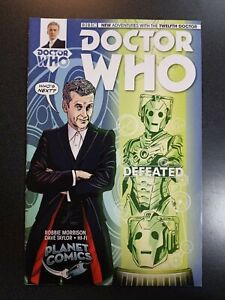 DOCTOR WHO TWELFTH DOCTOR #1 Planet Comics Exclusive Variant Comic Book Titan