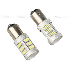 2×54 LED Bulb White Car Reverse Light 1157 BAY15D P21/5W CANBUS Backup Lamp