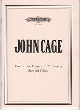John Cage : Concert for Piano and Orchestra, Solo for Tubas