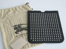 Burberry London Tifton Studded Black Leather Ipad case cover sleeve