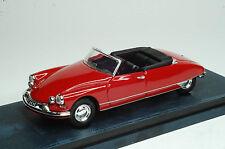 RIO 4280 - Citroen DS Cabrio 1961 Rosso-Red scala 1/43