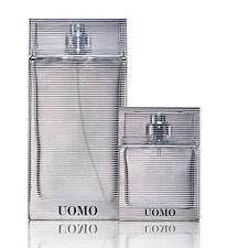 Ermenegildo Zegna UOMO EDT Gift Set 100ml/3.4 OZ and 30ml/1 OZ, Authentic, New