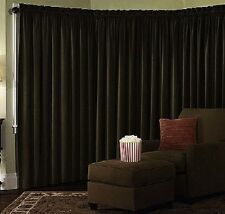 Velvet Panel Drapes Custom Made Backdrop Curtain Stage Auditorium Hall 25W X 7H