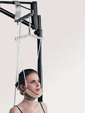 Cervical Traction Device Unit Kit Neck Pain Relief Spine Stretcher  OTC