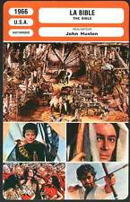 LA BIBLE - John Huston (Fiche Cinéma) 1966 - The Bible : In the Beginning…