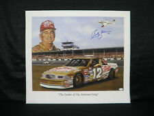 Bobby Allison Signed Lewis Watkins The Leader of The Alabama Gang Lithograph JSA