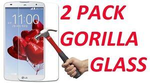 2x  9H HARD PREMIUM BALLISTIC TEMPERED GORILLA GLASS SCREEN PROTECTOR FOR LG G4