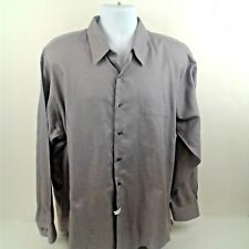Joseph & Feiss Mens Long Sleeve Lavendar Button Down Dress Shirt Size 17.5-34/35