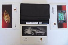 02 2002 Porsche 996 911 Turbo Owners Manuals PCM Nav Book + Authentic Pouch P129