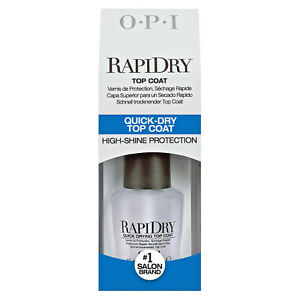 NEW OPI Rapi Dry Fast Drying Top Coat 15ml Bottle!!