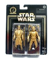 Star Wars Gold Commemorative Edition Mace Windu & Jango Fett 3.75'' Figure