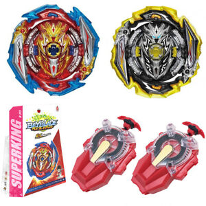 Beyblade Burst SuperKing B-173 Infinite Achilles Gyro w/ 2 Sparking Launchers