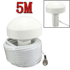 External Marine Boat GPS Receiver Antenna BNC Male Plug Connector 5 Meters