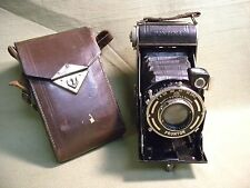 Vintage Balda Pontina Folding Camera with Radionar 105mm  Case Germany
