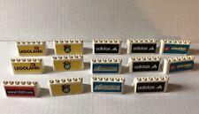 Lot 14 LEGO Soccer Racing Windshield Sideline Boards White Adidas Legoland
