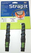 ROK Straps Motorcycle Tie Down Luggage Straps 2 pack 12 inch x 3/4 inch