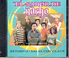 """NACHO SANABRIA - """" EL SABOR DE NACHO """" - RETORNO SALSA CON CLAVE - CD"""