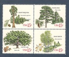 1764-67 American Trees Block Of 4 Mint/nh (Free shipping offer)