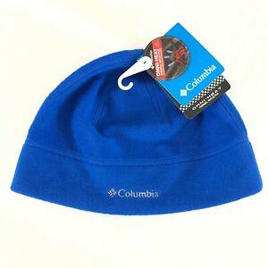 Columbia Thermarator Hat Beanie Fleece Omni-Heat Blue Unisex S/M