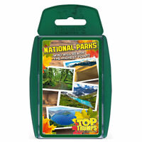 Top Trumps Card Game National Parks
