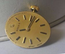 Vintage Rolex Lady Cal 1400 Wrist Watch Movement with Dial Ticks ASIS #46-4